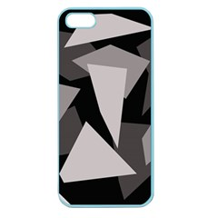 Simple Gray Abstraction Apple Seamless Iphone 5 Case (color) by Valentinaart