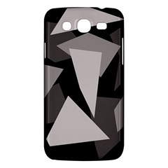 Simple Gray Abstraction Samsung Galaxy Mega 5 8 I9152 Hardshell Case  by Valentinaart