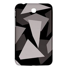 Simple Gray Abstraction Samsung Galaxy Tab 3 (7 ) P3200 Hardshell Case  by Valentinaart