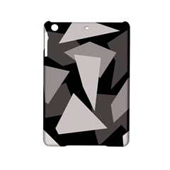 Simple Gray Abstraction Ipad Mini 2 Hardshell Cases by Valentinaart