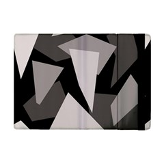 Simple Gray Abstraction Ipad Mini 2 Flip Cases by Valentinaart
