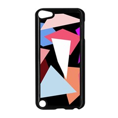 Colorful Geometrical Design Apple Ipod Touch 5 Case (black) by Valentinaart