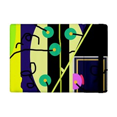 Crazy Abstraction By Moma Apple Ipad Mini Flip Case by Valentinaart