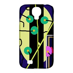 Crazy Abstraction By Moma Samsung Galaxy S4 Classic Hardshell Case (pc+silicone) by Valentinaart