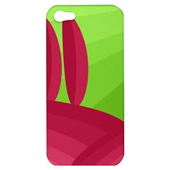 Green And Red Landscape Apple Iphone 5 Hardshell Case