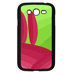 Green And Red Landscape Samsung Galaxy Grand Duos I9082 Case (black) by Valentinaart