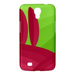 Green And Red Landscape Samsung Galaxy Mega 6 3  I9200 Hardshell Case by Valentinaart