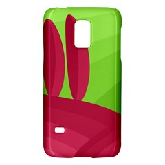 Green And Red Landscape Galaxy S5 Mini by Valentinaart