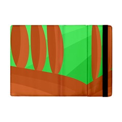 Green And Orange Landscape Ipad Mini 2 Flip Cases by Valentinaart