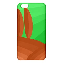 Green And Orange Landscape Iphone 6 Plus/6s Plus Tpu Case by Valentinaart