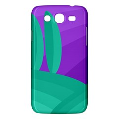 Purple And Green Landscape Samsung Galaxy Mega 5 8 I9152 Hardshell Case  by Valentinaart