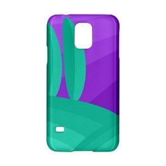 Purple And Green Landscape Samsung Galaxy S5 Hardshell Case