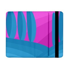 Pink And Blue Landscape Samsung Galaxy Tab Pro 8 4  Flip Case by Valentinaart