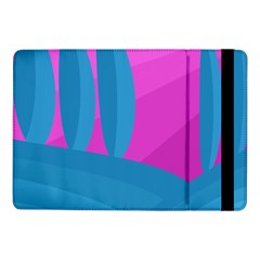 Pink And Blue Landscape Samsung Galaxy Tab Pro 10 1  Flip Case by Valentinaart