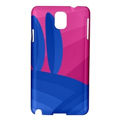 Magenta And Blue Landscape Samsung Galaxy Note 3 N9005 Hardshell Case by Valentinaart