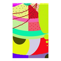 Colorful Abstraction By Moma Shower Curtain 48  X 72  (small)  by Valentinaart
