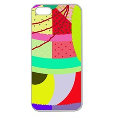 Colorful Abstraction By Moma Apple Seamless Iphone 5 Case (clear) by Valentinaart
