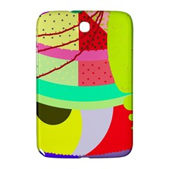 Colorful Abstraction By Moma Samsung Galaxy Note 8 0 N5100 Hardshell Case  by Valentinaart