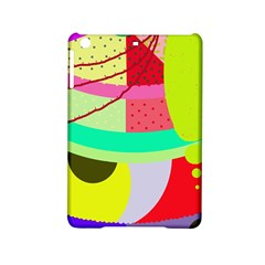 Colorful Abstraction By Moma Ipad Mini 2 Hardshell Cases by Valentinaart