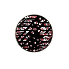 Red Freedam Hat Clip Ball Marker (4 Pack) by Valentinaart