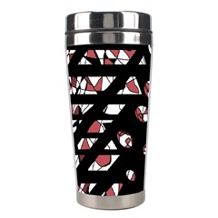 Red Freedam Stainless Steel Travel Tumblers by Valentinaart