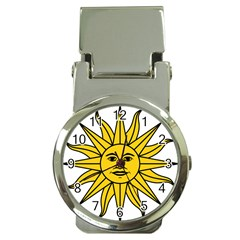 Uruguay Sun Of May Money Clip Watches