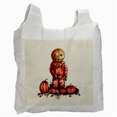 Trick R Treat Sam Recycle Bag (one Side) by lvbart