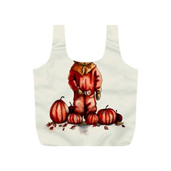 Trick R Treat Sam Full Print Recycle Bags (s)  by lvbart