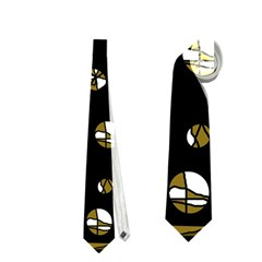Green Freedom Neckties (two Side)  by Valentinaart