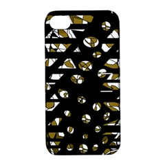 Green Freedom Apple Iphone 4/4s Hardshell Case With Stand by Valentinaart