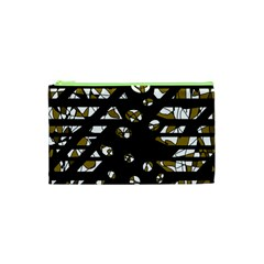 Green Freedom Cosmetic Bag (xs) by Valentinaart