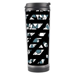 Blue Freedom Travel Tumbler by Valentinaart