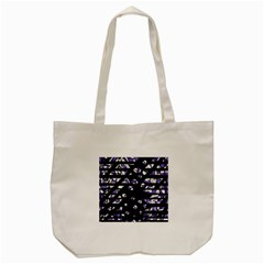 Purple Freedom Tote Bag (cream) by Valentinaart