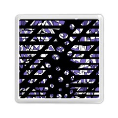 Purple Freedom Memory Card Reader (square)  by Valentinaart