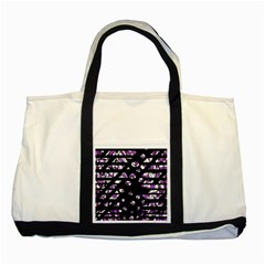 Violet Freedom Two Tone Tote Bag by Valentinaart