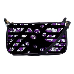 Violet Freedom Shoulder Clutch Bags by Valentinaart