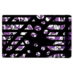 Violet Freedom Apple Ipad 2 Flip Case by Valentinaart