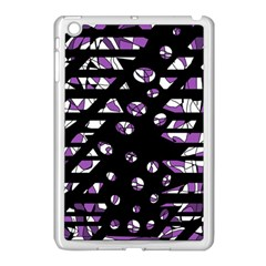 Violet Freedom Apple Ipad Mini Case (white) by Valentinaart