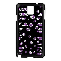 Violet Freedom Samsung Galaxy Note 3 N9005 Case (black) by Valentinaart