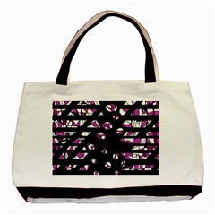 Magenta Freedom Basic Tote Bag by Valentinaart