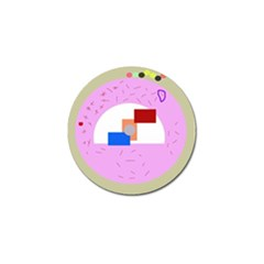 Decorative Abstract Circle Golf Ball Marker (10 Pack)