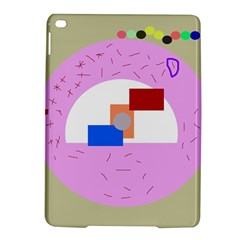 Decorative Abstract Circle Ipad Air 2 Hardshell Cases by Valentinaart