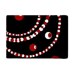 Red Pearls Ipad Mini 2 Flip Cases by Valentinaart