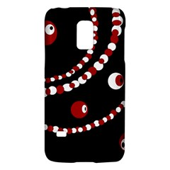 Red Pearls Galaxy S5 Mini by Valentinaart