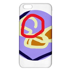 Abstract Circle Iphone 6 Plus/6s Plus Tpu Case by Valentinaart
