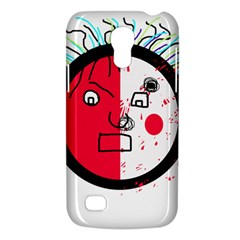Angry Transparent Face Galaxy S4 Mini by Valentinaart