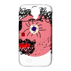 Abstract Face Samsung Galaxy S4 Classic Hardshell Case (pc+silicone) by Valentinaart