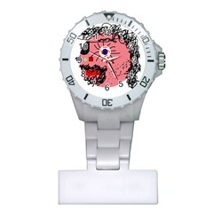 Abstract Face Plastic Nurses Watch by Valentinaart