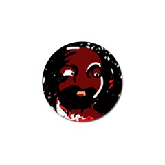 Abstract Face  Golf Ball Marker (10 Pack) by Valentinaart