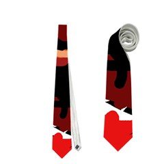 Abstract Face  Neckties (one Side)  by Valentinaart